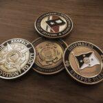 US coast guard coins